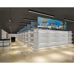 High quality supermarket shelves equipment