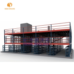 Warehouse Storage Floor Mezzanine Rack System