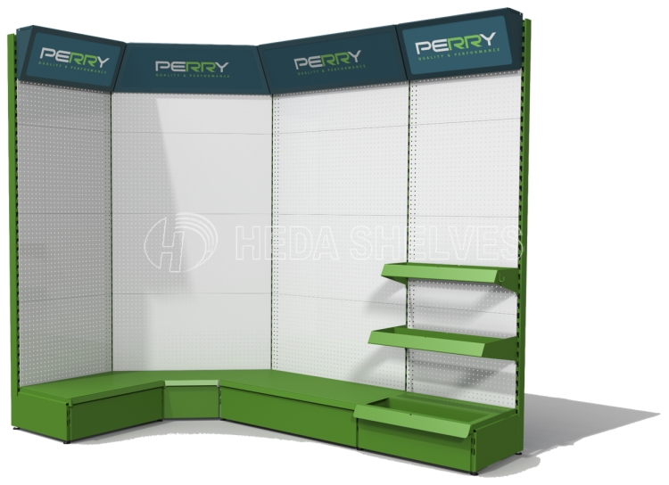 Europe standard preforated tool display stand