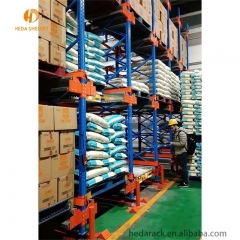 the rack warehouse /drive-in metal pallet storage racking system