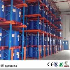 Customized Warehouse Q235-Cold Rolled Steel Drive-in Pallet Racking System Rack