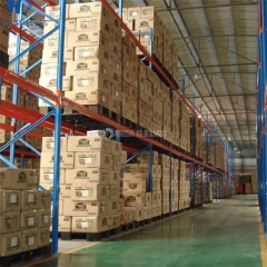 00:00 00:14 View larger image Industrial material handling warehouse equipment drive in pallet racking heavy duty racks storage shelving Industrial material handling warehouse equipment drive in pallet racking heavy duty racks storage shelving Industrial