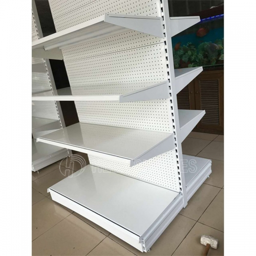 Heda high quality steel store supermarket shelf display rack