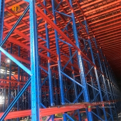 Custom supported industrial grating cold storage steel mezzanine shelving floor racking