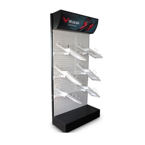 Perforated display rack