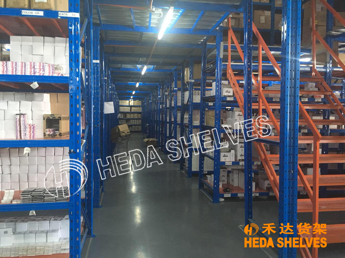 Customized Mezzanine Rack for Philippines clients