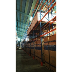 Heavy duty storage pallet racking