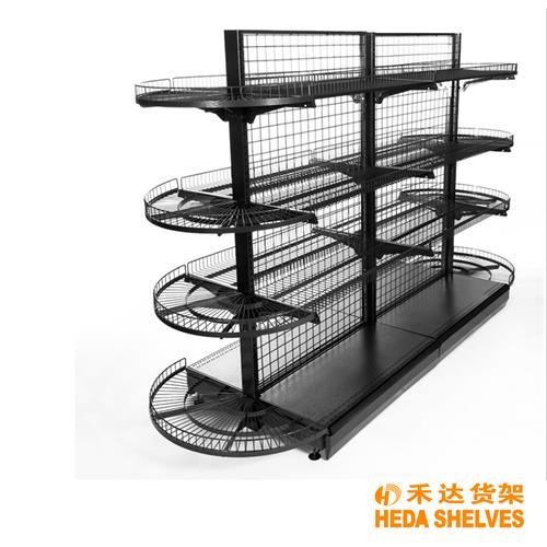 Shelving for grocery store
