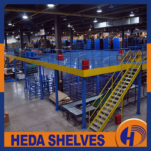 Mezzanine Level Racking