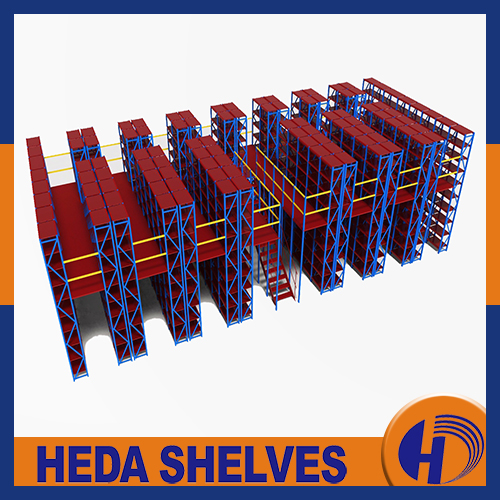 Shelf supported mezzanine