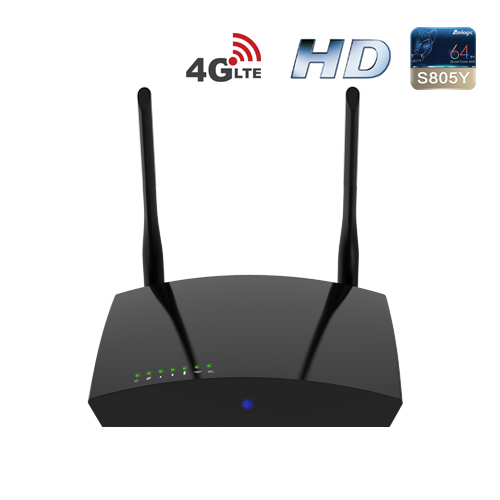 DVB-S2X 4G LTE Android TV™
