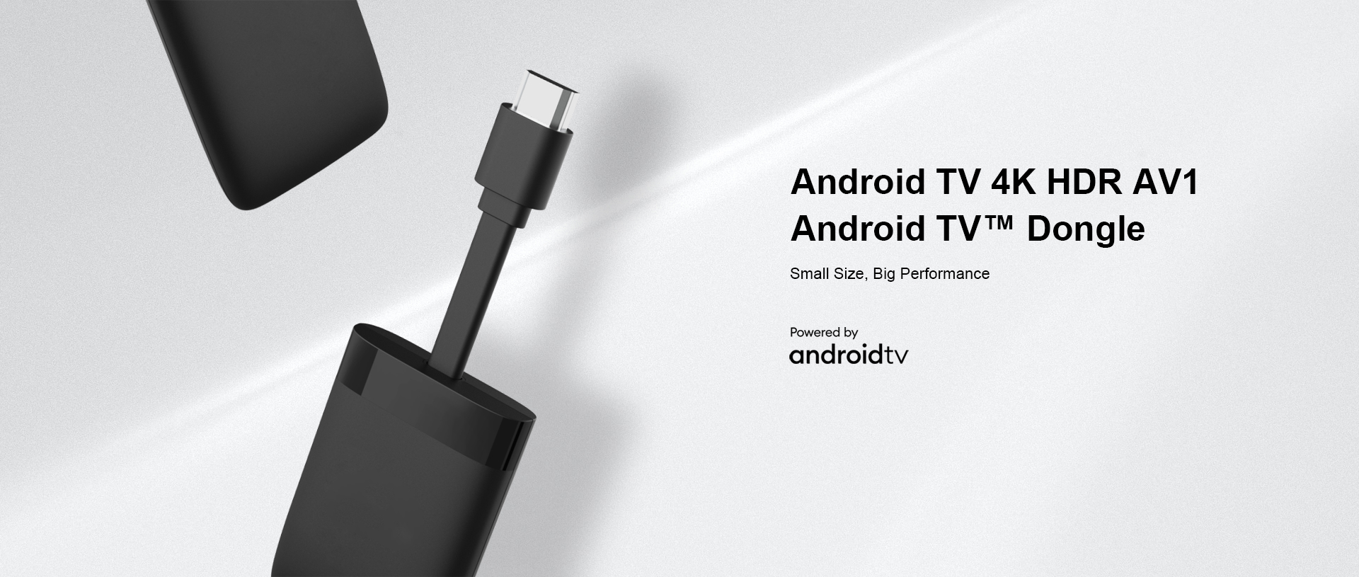 4K HDR AV1 Android TV™ Dongle