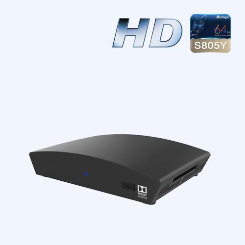 DVB-S2 Android TV™ HDHybrid STB
