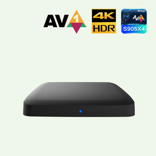 S905X4 4K AV1 Android TV™OTT/混合STB