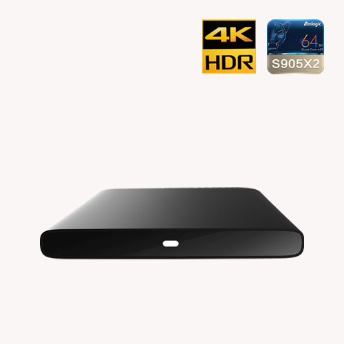4K HDR certifié Android TV™OTT STB