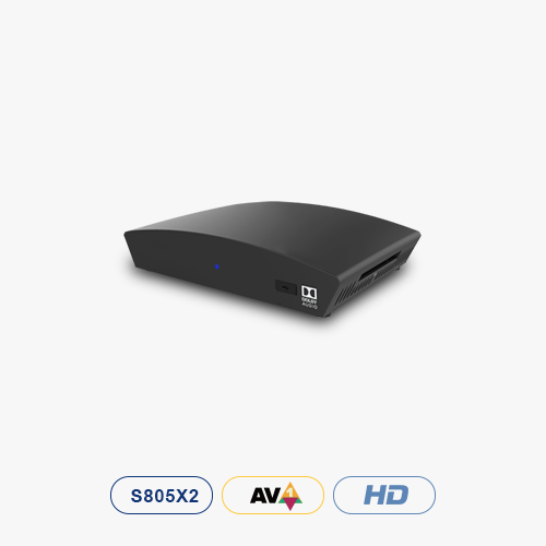 DVB-S2 Android TV™ HD-Hybrid STB