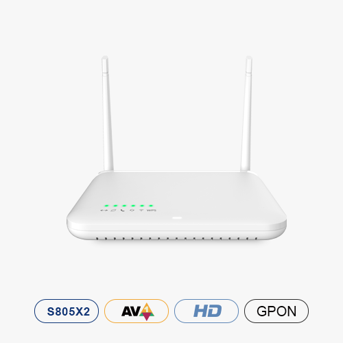 Android TV™ Box with GPON-Gateway Wi-Fi Router