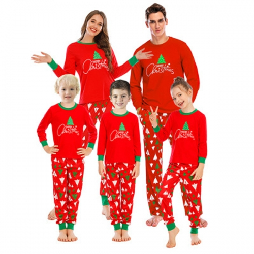 Matching Family Pajamas Christmas Boys and Girls Pyjamas 2 Piece PJs for Mum and Me