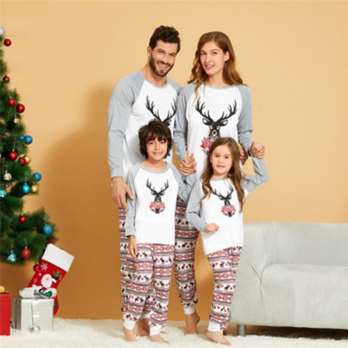 Merry Christmas Pajamas for Family Set, Women Men Kids Baby Xmas Pjs Sleepwear Nightwear Tops and Pants