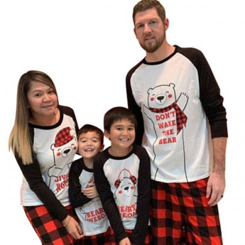 Family Christmas Pajamas Matching Sets,Christmas PJs for Holiday Xmas Sleepwear