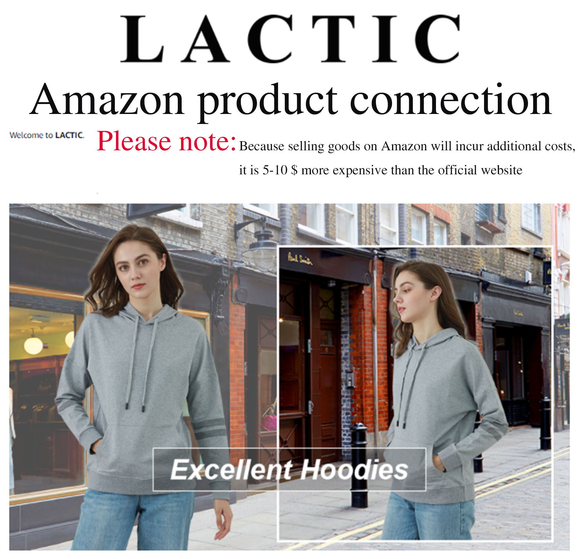 LACTIC clothing Amazon merchandise
