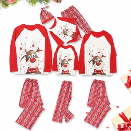 Family Matching Christmas Pajamas Couple Christmas PJS Baby Christmas Outfit Boys and Girls Dogs Holiday Xmas Sleepwear Set