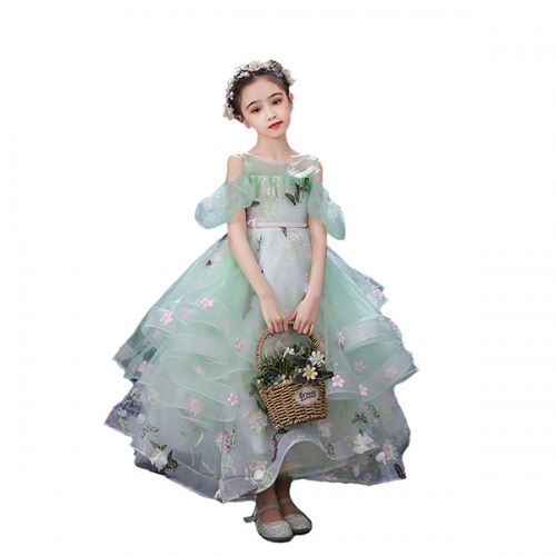 Flower Girl Dress Tulle Bridesmaid Dress For Wedding Party Aline