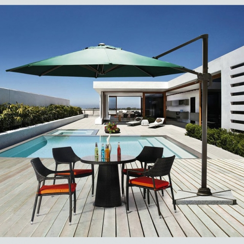 Waterproof Casual Sunshade Garden Table 9FT Parasol Outdoor Patio Umbrella