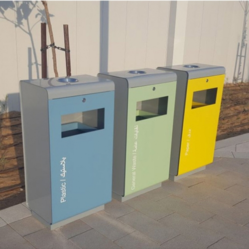 3 compartment recycle bin for Dubai