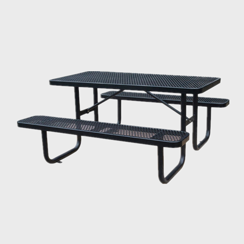 TB80 Public metal steel picnic table