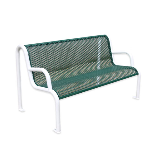 FS63 Outdoor furniture street steel mesh bench