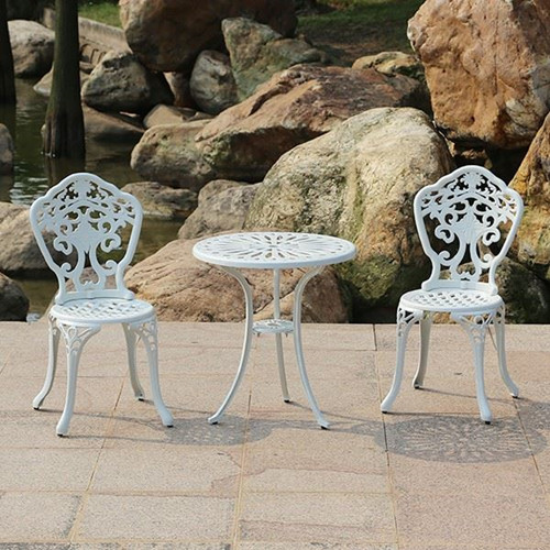 Attractive Antique Stylish Patio Cast Aluminum Chair