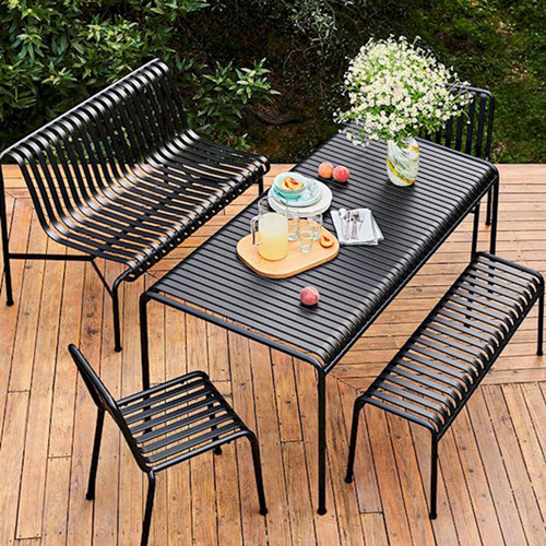 Garden sets outdoor picnic table bench shopping mall dining table and chair