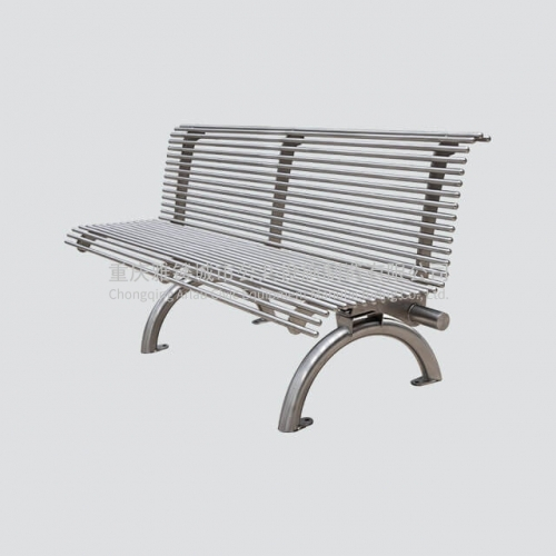 FS11 stainless steel garden bench