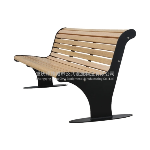 outdoor wood bench garden wooden benches with cast iron legs