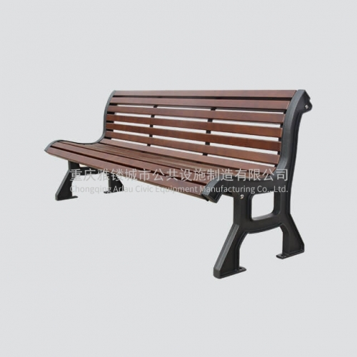 FW12 heavy duty outdoor wooden bench