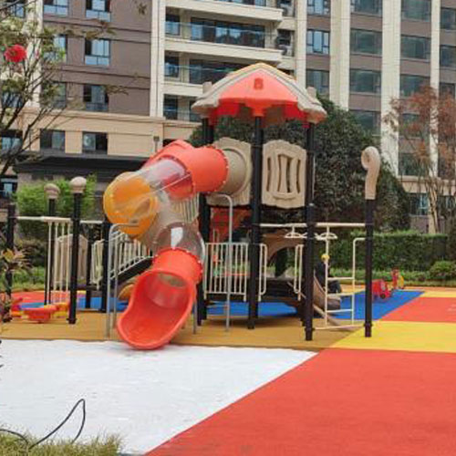 Chengdu Jiale Yunjin Pavilion purchases children's amusement facilities and outdoor fitness equipment