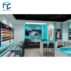 Cell phone store interior design