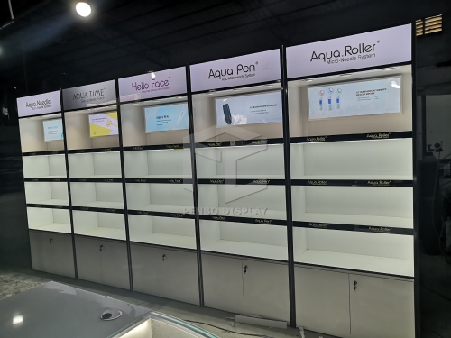 Luxury SkinCare Products Display Racks