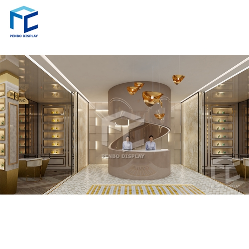New design Perfume shop interior design for Qatar