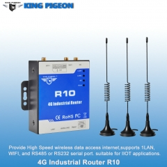 Wireless 4G Industrial Router (2LAN 1WAN 1RS485)