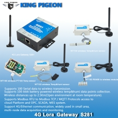 Wireless Temperature Sensor (-10~200℃, PT100)