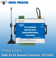 GSM 3G 4G SMS Remote Controller(8 Relay Outputs)