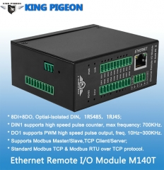 Ethernet Remote IO Module(8DIN+8DO,High speed pulse counter,pulse output)