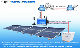 4G Power Status Monitoring Alarm Used in Solar Panel
