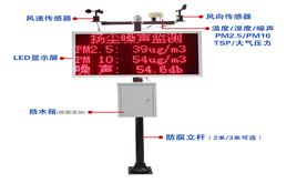 S275 on-site LED display environmental monitoring system