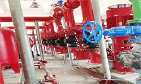 S272 fire pump room environmental monitoring (water leakage, tank level, temperature and humidity)