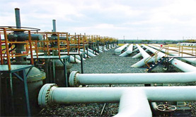 Temperature and Pressure Monitoring of S475 Oil Pipeline