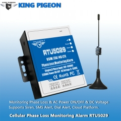 Wireless Power Status Monitoring Alarm (Phase Loss, Power off, Temperature, DC Voltage)