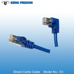 Left Angle RJ45 CAT5E Cable